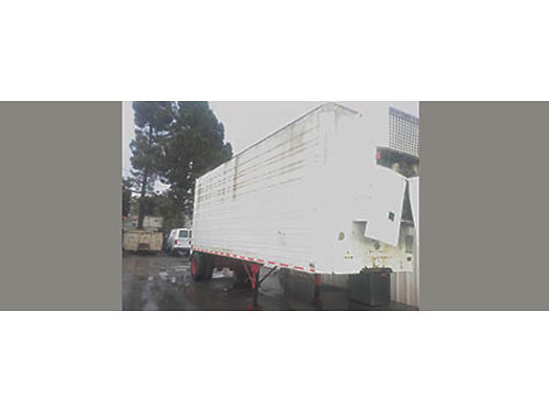 SEMI TRAILER 25 FT Great cond refrigerated perfect for storage use rear roll up door clean in a