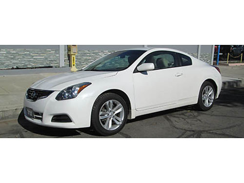 2012 NISSAN ALTIMA COUPE auto 1 owner well maint 82K mi new tires AC CD clean title great c