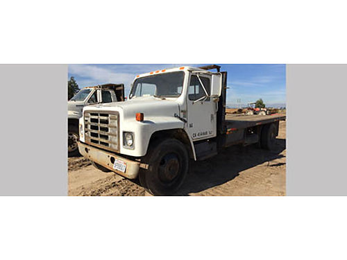 1985 INTERNATIONAL 1700 FLATBED 18 bed 90L Diesel w 212089 miles 2200 obo