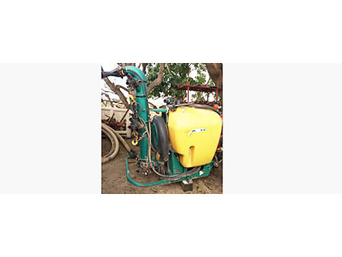 CIMA AIR SPRAYER Low volume 100 gallon with snorkel great for vineyardsberries used only 3 sea