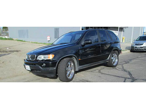 2003 BMW X5 auto 6cyl 30L all pwr lthr snrf 149K mi AC CD alarm  Navi runs good well m