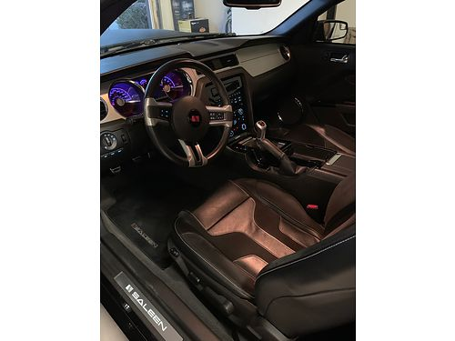 SOLD-2011 FORD MUSTANG SALEEN CONVT, 6 SPD, ...