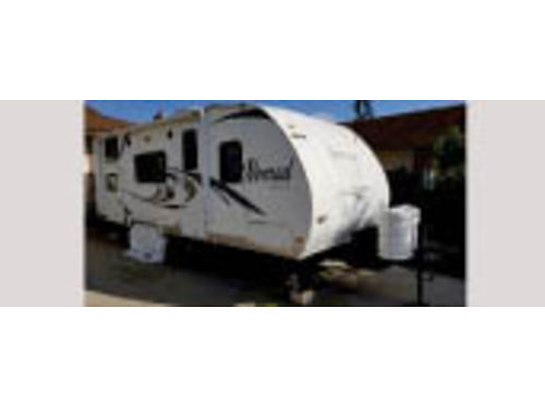 2011 NOMAD TRAVEL TRAILER 248 special edition sleeps 6 full bathroomwtr htr AC dual gas tank