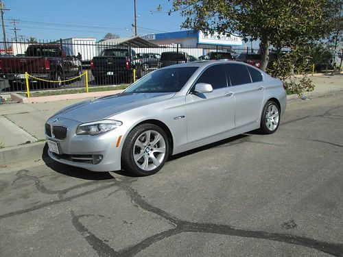 2011 BMW 528I auto 6cyl all pwr Sports pkg extra set of wheels  tires fully loaded 99K mi c
