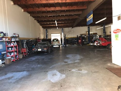 EUROPEAN AUTO REPAIR Oxnard CA estab 50 yrs 5000 sq ft shop10K sq ft lot Lg prking lot all e