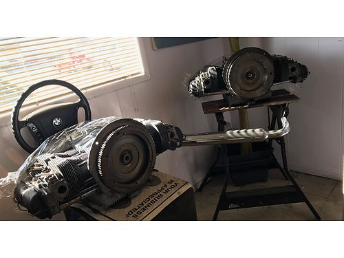 VOLKSWAGEN ENGINES TWO COMPLETE REBUILT ONE IS A 1600 CC AND 1500 CC for a Super Beetle or Beetle