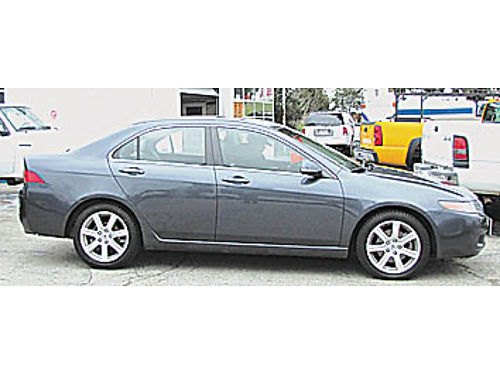 2004 ACURA TSX - 4 Door 6 spd manual trans AC leather loaded 126K miles 044106 5999 MODERN F