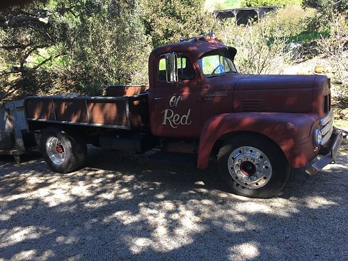 1953 INTERNATIONAL R-190 original gas motor runs grt 5 speed trans w 3 speed