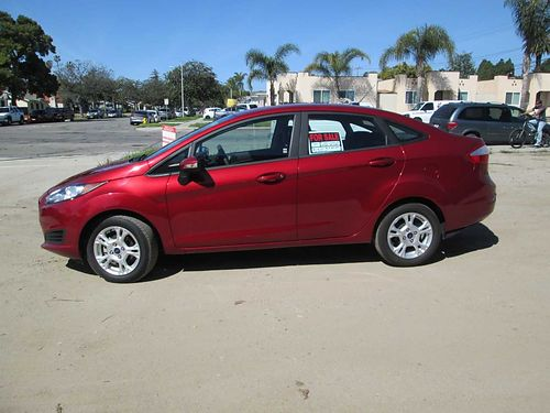 SOLD-2015 FORD FIESTA SE, AUTO, 4CYL, 4DR, ...