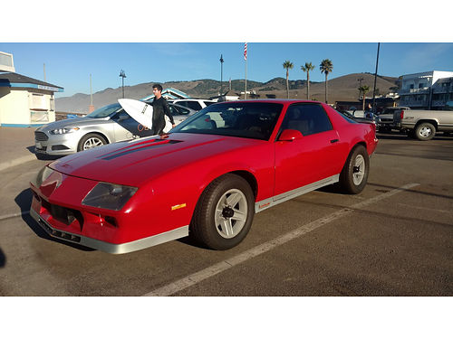 1983 CHEVY CAMARO Z28 good condition Crossfire all orig owned for 16yrs Neve