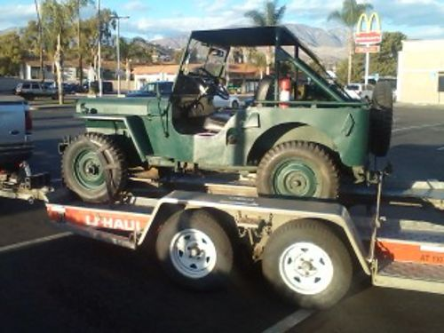1946 WILLYS JEEP CJ2A model runs great hard to find classic 10500 obo