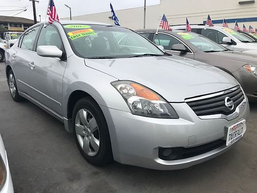 2007 NISSAN ALTIMA 25S - auto CVT 4 cyl gas saver all power low 125K miles air premium stereo