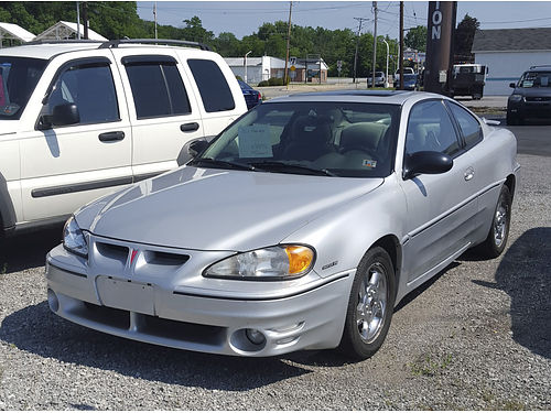 2004 PONTIAC GRAND AM GT coupe auto V6 air tilt cruise moonroof power options low miles nic