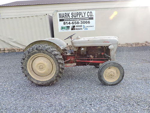 Ford NAA Tractor 540 PTO 3 pt hitch nice old tractor from an estate good rubber 1500 Mark Supp