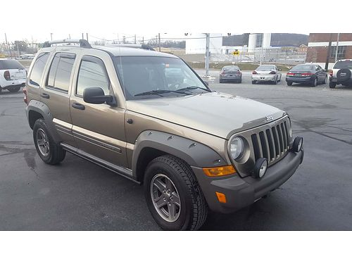 2005 JEEP LIBERTY RENEGADE 4WD auto V6 AC tilt cruise AMFMCD power options serviced good P