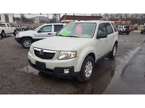 2008 MAZDA TRIBUTE auto 4 cyl AC tilt cruise power windowslocksseatmirrors latest PA insp