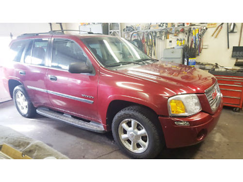 2006 GMC ENVOY SLT Real nice auto V6 AC tilt cruise AMFMCD power options roof  4WD servi