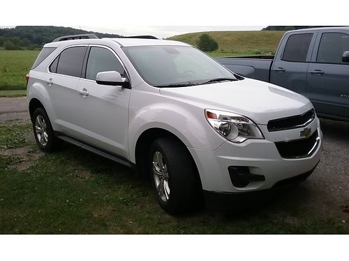 2012 CHEVROLET EQUINOX LT AWD PW PL PS auto AC high miles but new 2015 complete GM motor w15