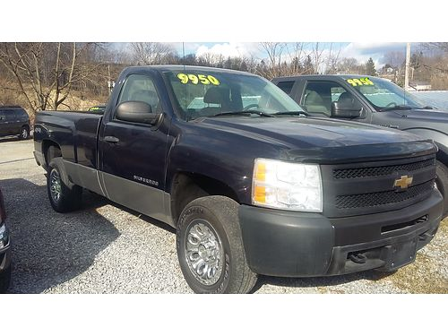 2011 CHEVY SILVERADO 4WD Auto V6 Long bed 129K 1 owner Only 8950 Ebersole Auto Sales 2816