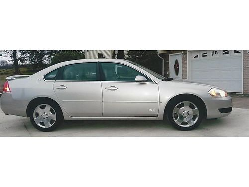 2008 CHEVROLET IMPALA SS V8 heated leather seats sun roof remote start garage kept low mileage