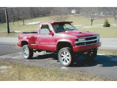1995 CHEVY SILVERADO 4WD V8 standard runs well 4000 call for more info