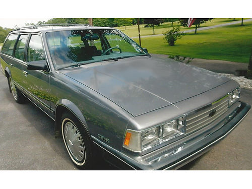 1986 CHEVROLET CELEBRITY Classic Station Wagon 34K miles 28 V6 always garage kept rust proof