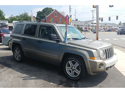 2008 JEEP PATRIOT LIMITED 4x4 auto sunroof PS Air Heated Seats 5995 Must See Otto Mart