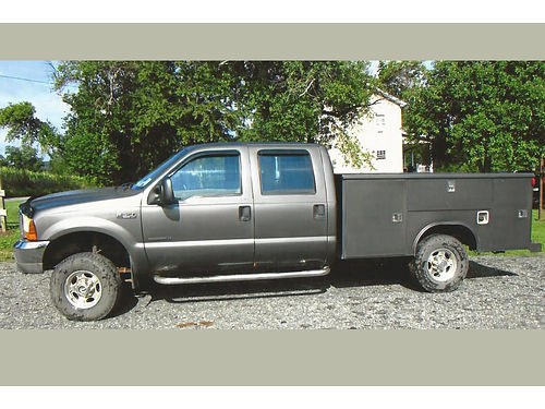 2003 FORD F350 XLT 73L Diesel Power Stroke auto 167K miles 9 Reading Utility bed 4X4 inspec