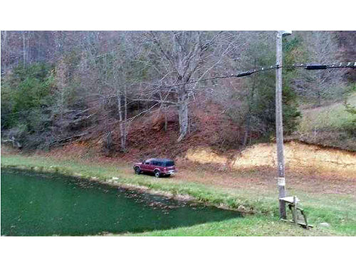 HAWKINS COUNTY TN 3375 acres 2WD accesible extra nice spring fed pond full of fish good hunting