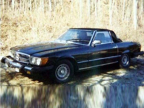 1983 MERCEDES 380SL auto new V8 engine w5k miles 2dr hard top convertible loaded wleather AM