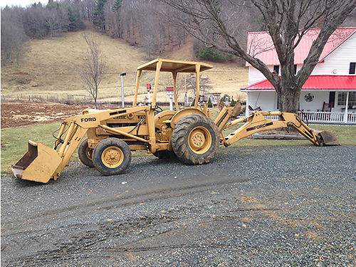 BACKHOE FORD 3550 1700hrs 2 buckets well maintained clean as a pin EC 8500 336-877-8896