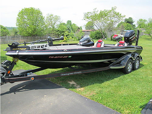 2014 RANGER 521C loaded push button start powerpole anchor trolling motor Mercury 250 Pro XS pr
