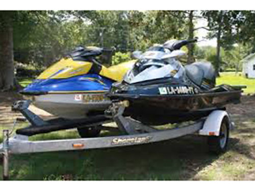 SEADOOS Package Deal RXT  GTI both run great wtrailer sold as a set Excellen