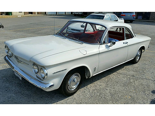 1960 CORVAIR MONZA 900 55K miles 6cyl 2dr 5 seater coupe 19500 selling due to health 276-431-2