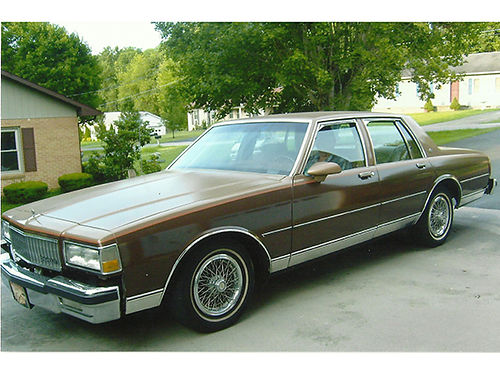 1989 chevrolet caprice cars and vehicles erwin tn. Black Bedroom Furniture Sets. Home Design Ideas