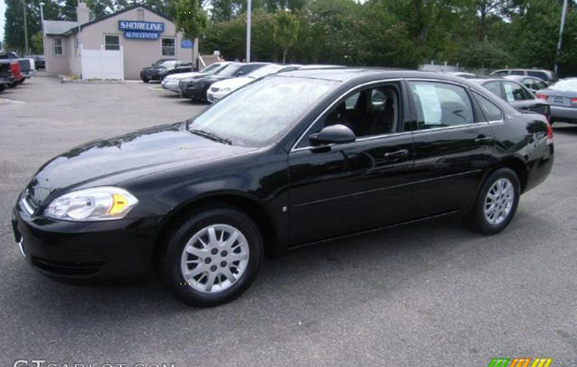 2006 CHEVY IMPALA LS 4 dr black wgray int clean V6 4 spd auto 31 mpg hwy looks  runs great