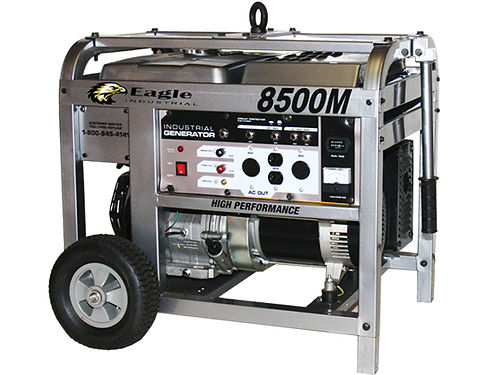 GENERATOR 8500M industrial or residential gas brand new never been used 1250 423-247-5218 423-2