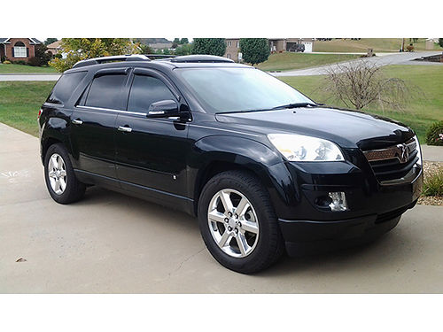 2008 SATURN OUTLOOK XR black on black loaded too much to list power sunroof
