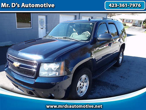 2008 CHEVY TAHOE LS 2WD auto air cd lots of room 3410 9895 MR DS AUTOMOTIVE Piney Flats TN