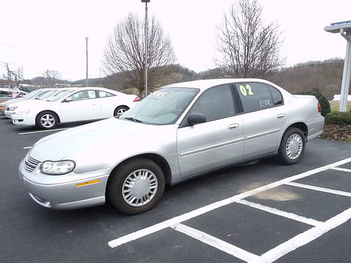 2002 CHEVY MALIBU 130k miles 4dr 02CM Was 4295 Now 3795 MR DS AUTOMOTIVE Piney Flats TN