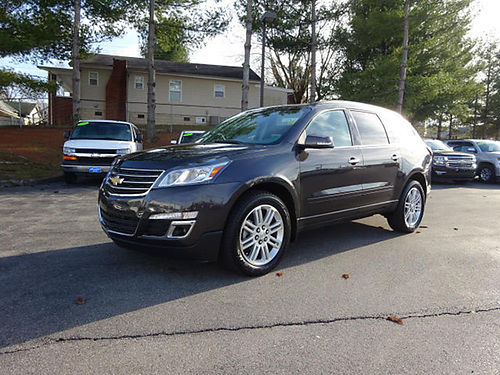 2015 CHEVY TRAVERSE 1LT 19k miles 22122G 27844 BILL GATTON Bristol TN