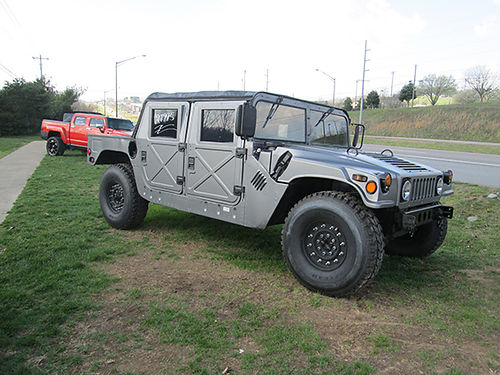 1986 HUMMER H1 Military 62 NA Diesel lk new tires soft top hard doors 50hp injectors runs str