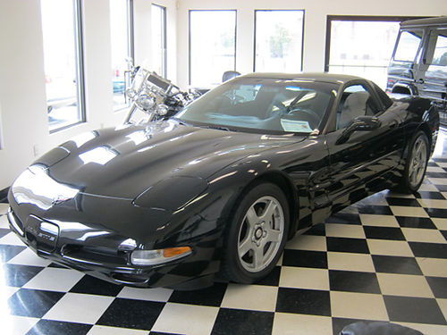 1999 CORVETTE COUPE black local keyless entry v8 6sp loaded pw pl cd leather H361999 LAKE