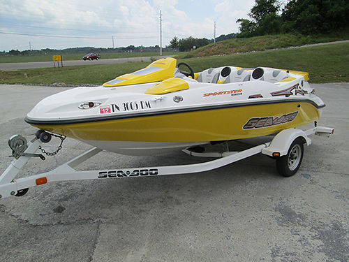 2003 SEADOO JETBOAT Sportster 4-Tec only 138hrs lightly used one owner serviced by Seadoo bimin