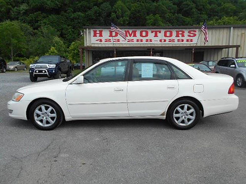 2000 TOYOTA AVALON XLS sunroof leather all power low miles 016878 3999 HD MOTORS KPT TN