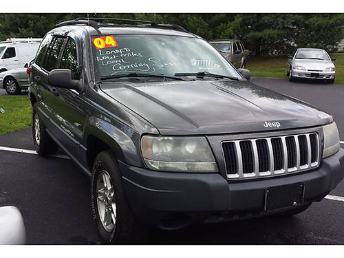 2004 JEEP CHEROKEE Laredo 4x4 40L auto pw pl leather 479 Was 7995 Now 6495 MR DS AUTOMOT