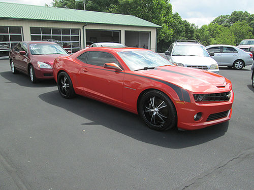 2010 CHEVY CAMARO RS SS 87k miles leather heated seats auto air cd like new 0127 19900 LIG