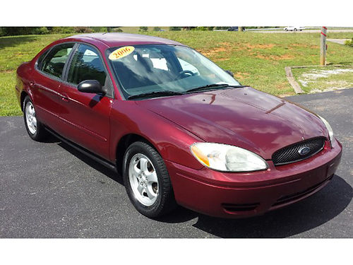2006 FORD TAURUS SE 4dr auto air 480 Was 2995 Now 2495 MR DS AUTOMOTIVE Piney Flats TN