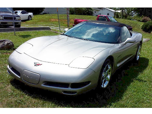 1999 CHEVY CORVETTE Conv 6sp 104k miles Immaculate Condition champagne leather 482 Was 159