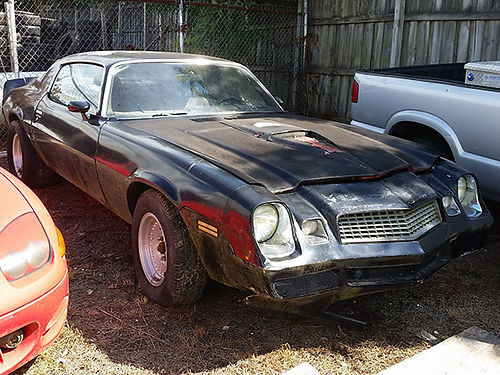 1980 CHEVY CAMARO was running when parked alloys lots of extras ready for TLC  restoration 3500